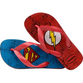 havaianas Heróis DC Flips Kids Ruby Red